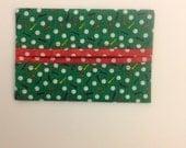 Golf Balls and Golf Tees Fabric Tissue Holder Gift Idea Handmade