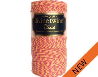 NEW** Raspberry Lemon Divine Twine (240 yds)