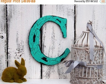 Your Choice Letter / Wall Letter / Wood Letter / Choice Color / Cottage/ Wedding / Shabby Chic Decor