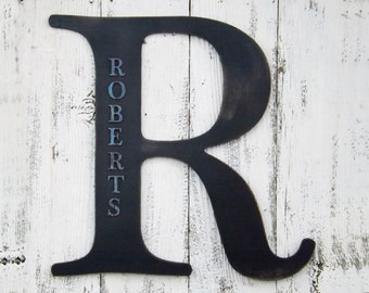 "24"" Ex Large Letter ~ Personalized Last Name~Personalized Wall Letter~Letters A~Z~Large Wall Letter~Letter R"