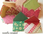 8 Christmas Gift Card Envelopes ... Variety, Envelope, Paper, Holidays, Gifts, Pocket Letters