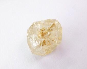 Fenster / Skeletal Quartz Crystal. Nice Specimen. Old Gnarly Tree Texture. Can Drill. 1 pc. 44 cts. 21x26x13 mm (QTZ631)