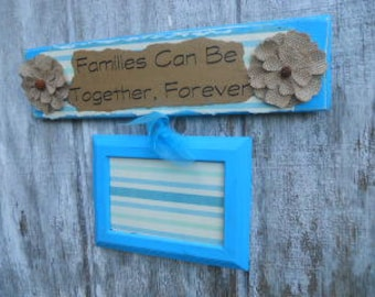 Decorative FAMILY Single Picture Frame with Sign