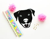 Dog Decal, dog, puppy, pit bull, rescue dog, shelter dog, adopt, adopted