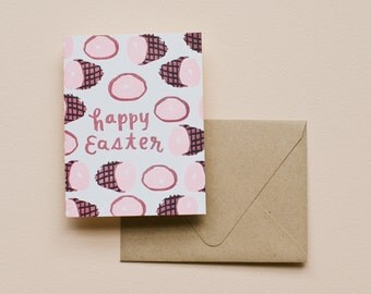 Letterpress Card- Happy Easter