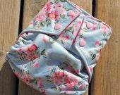 Vintage Flower Cloth Diaper