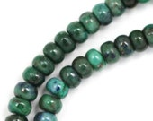 MOVING SALE Azurite Beads - 6mm Rondelle - Full Strand