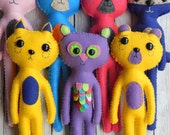 Reserved listing for Ria~ Woodland Buddies Plush Dolls