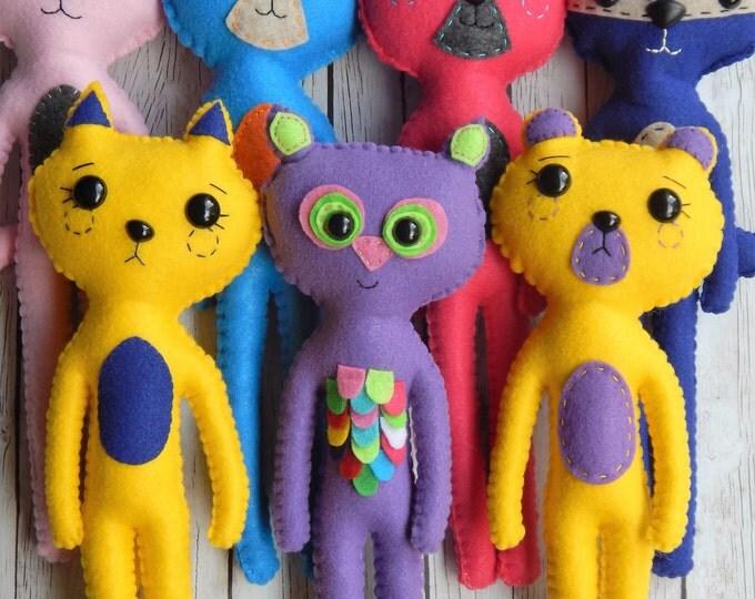 Woodland Buddies Plush Dolls