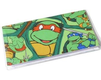 Checkbook Cover Teenage Mutant Ninja Turtles