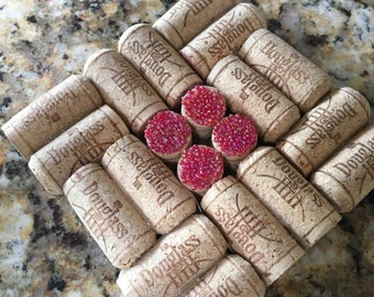 Just Reduced-Pretty Pinkish Cork Hot Pad