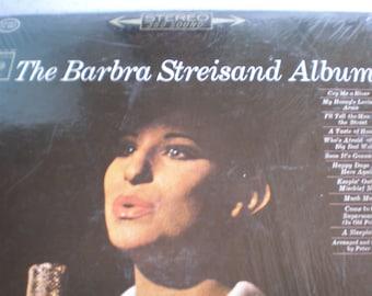 Vintage Mid Century Record/Album - The Barbra Streisand Album