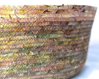 Earthtone Storage Organizer, Handmade Batik Magazine Rack, Modern Cotton Pet Bed, Woodland Batik Fabric Basket, Dog Bed, Dog Bowl, Pet Bowl