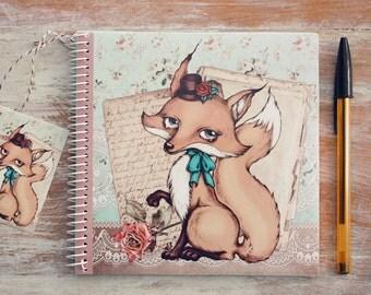 Mademoiselle Renardette - notebook