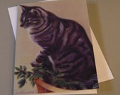 Trimble the Cat art card ...