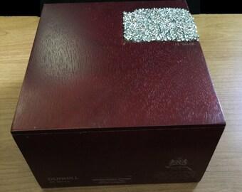 Treasure Keeper©- Cigar box repurposed