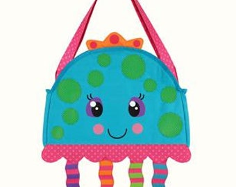 Personalized Stephen Joseph JELLYFISH Beach Tote CHILDS TOYS Playset Girls