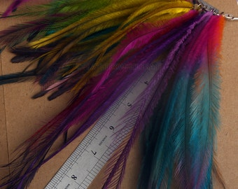 Gypsy Hair Feather Supplies Cruelty Free Feather Extension Hair Accessories Naturally Molted Emu Plume Craft Supplies Feathers 50+