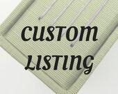 Custom Listing for Elaina - 10x10 interleaved album with slipcase