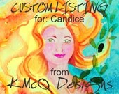 Custom order for Candice-  wizard or witch hat- LAUREL - peacock purple magic