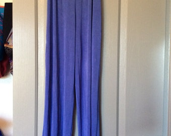 Sale!/Slinky pants med-2X/New condition lite blue/very comfortable stretchy