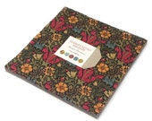 Morris Earthly Paradise Layer Cake 10-inch squares  (42 pieces) - by Barbara Brackman for Moda Fabrics