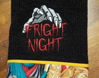 Fright Night Horror Movie Kitchen Dish Towel