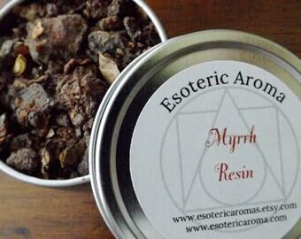 Myrrh Incense Resin - Resin incense, ritual incense, spiritual incense, spellwork, Wiccan, Pagan, natural incense