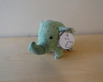 SALE*** REDUCED PRICE*** Tiny Stuffed Elephant- Richie