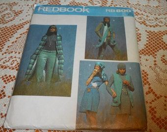 Sewing Pattern REDBOOK RB800 - Uncut - Size 10