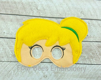 Tinkerbell fairy Peter Pan Pixie fairy Embroidered felt play set child size