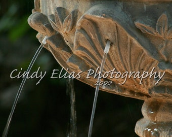 Note Card, Photo Card, Blank Note Card, water note card, Greeting Card, Art Print, Water Fountain, Zen, Meditation, Photography, New Age