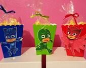 PJ Masks Snack Boxes - Set of 10