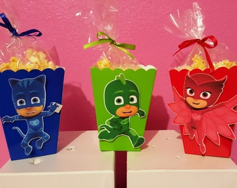 PJ Masks Snack Boxes - Set of 10