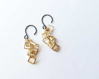 MADE TO ORDER : Style Squared drop earring