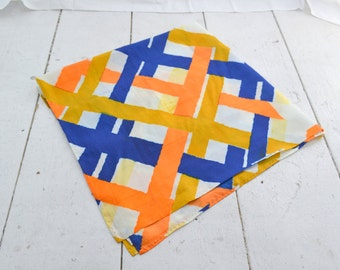 """1960s Fabric Remnant, 33"""" square"""