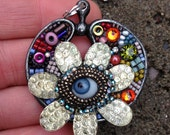 Garden Eye Pendant by Betsy Youngquist