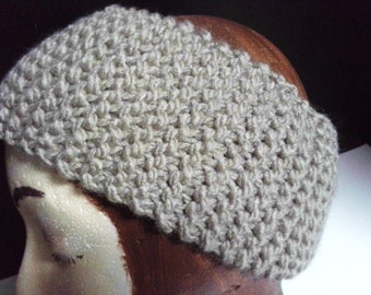 Knit Headband, Knit Ear Warmer