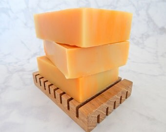 Sweet Orange Soap - citrus scented soap - natural citrus soap - citrus soap - unisex soap - all natural soap - essential oil soap - citrus