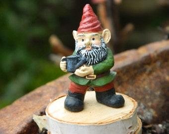 Fairy Garden Gnome Miniature Garden Gnome Accessories Terrarium for miniature garden