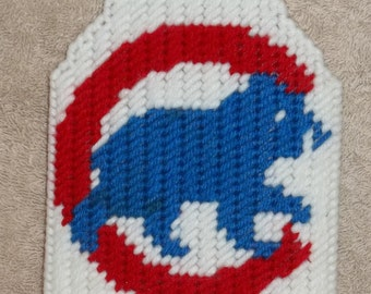 Cubs Flyswatter Cover Plastic Canvas Pattern