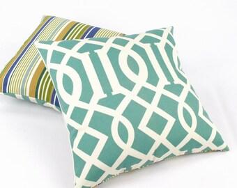 reversible decorative throw pillows