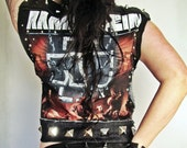 SALE Rammstein Heavy Metal Vest
