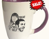 SALE with some imperfections detailed on the pictures  - Treat Yo Self Mug