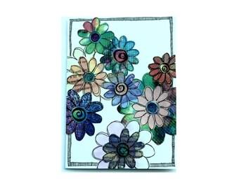 Paper Flower Garden Series on White (PFGW-0009)
