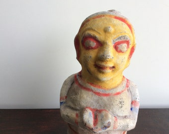 Terra Cotta Figure India Votive Shipping Included in the U.S.