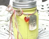 "Romantic ""just Because"" Jar, perfect for your Valentine, Wedding Day, Anniversary"