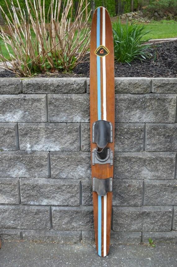 Vintage Wood Ski 88