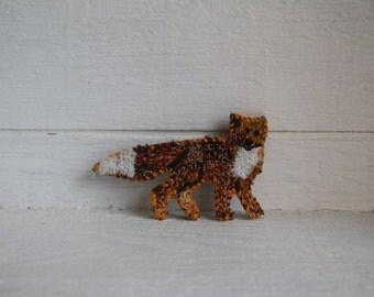 fox Barrette; eco friendly accessory