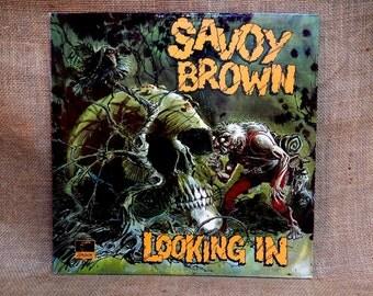 SAVOY BROWN - Looking In - 1970 Vintage Vinyl GATEFOLD Record Album